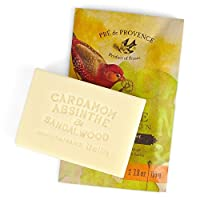 Pre de Provence Private Collection French Soap Bar (110 Gram) - Cardamom Absinthe Sandalwood [並行輸入品]