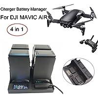 inverleeスマート充電器バッテリManager電池充電for DJI Mavic Airドローンパーツ マルチカラー IN