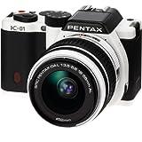 PENTAX ミラーレス一眼カメラ K-01ズームレンズキット ホワイト/ブラック K-01ZK WH/BK