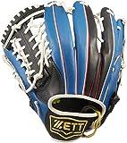 ZETT(ゼット) ソフトボール オールラウンド グラブ(グローブ) リアライズ (左投げ用) BSGB52730 ブラック/ブルー