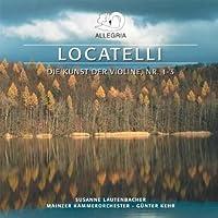 Violin Cons 1-3 by P. Locatelli