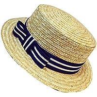 赤ちゃん帽子子供かわいい麦わら帽子バイザー太陽帽子ビーチ帽子 #5