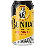 Bundaberg Rum and Cola Mix Can 375ml (Pack of 18)