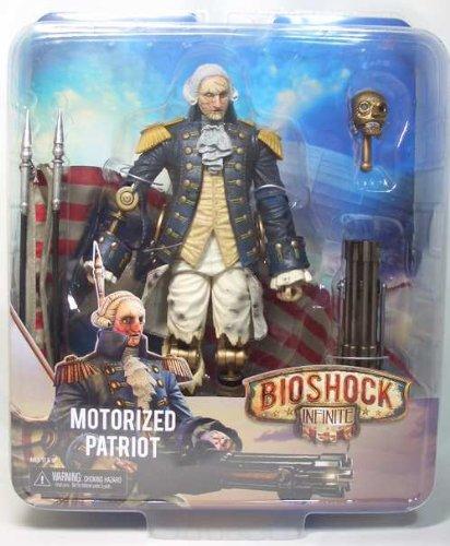 バイオショック インフィニット 9インチアクションフィギュア モータライズドパトリオット ジョージ・ワシントン