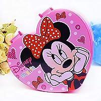 Jacklin Fashion 漫画の宝石箱、Peppa Pig&Mickey Mouse&Hello Kitty&Little Pony&Bear Brown&Bunny Cony ミラー付きかわいい化粧品収納ボックス