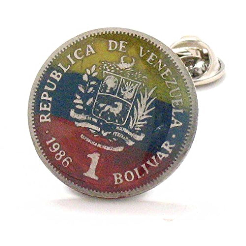 ベネズエラCoinタイタックラペルピンスーツFlagベネズエラのBandera Joyas JOYERIA Caracas Maracaibo