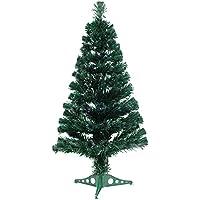クリスマス屋 クリスマスツリー 150cm グリーン 多分割 ACアダプター LED光源 ファイバーツリー