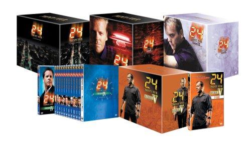 24 -TWENTY FOUR- シーズン1~5 コンプリート・パック (Amazon.co.jp仕様) [DVD]