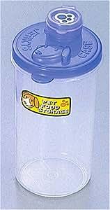 ペット用ジャーキーの保存容器 ブルー