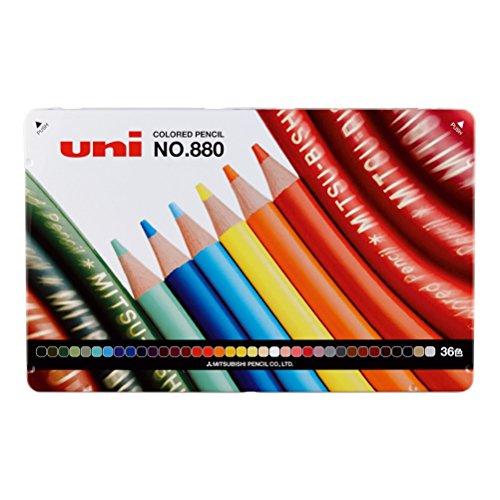 三菱鉛筆 色鉛筆 880 36色