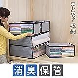 Storage Style 快適収納 炭入り収納ケース5枚セット 小物/衣類・寝具用 厚手不織布製