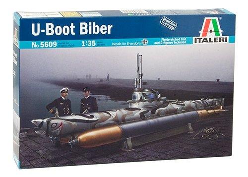 タミヤ イタレリ 1/35 シップシリーズ 5609 ドイツ海軍 Uボート ビーバー 38609