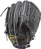 ZETT(ゼット) 野球 硬式 ピッチャー グラブ(グローブ) プロステイタス (右投げ用) BPROG21 ブラック