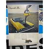 ロードランナー ポスター Plymouth YE /ROAD RUNNER ポスター