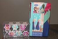 Disney Frozen Elsa & Anna Fabric Shower Curtain & Set of 12 Hooks