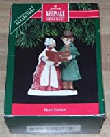ホールマーク記念品オーナメント1991Merry Carolers AクリスマスCarolコレクション