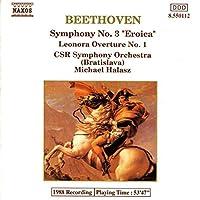 Ludwig van Beethoven BEETHOVEN: Symphony No. 3 / Leonore Overture No. 1