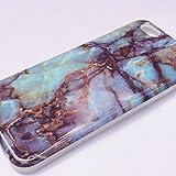 iphone 大理石 iphone7 iphone6plus 6s 6splus マーブルストーン ソフト おしゃれ 夏 シリコン カバー アイフォン6s アイフォン7 天然石
