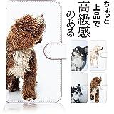 KEIO ケイオー AQUOS Xx-Y 404SH カバー 手帳型 犬 XxY 手帳 ドッグ 犬柄 AQUOS ケース Xx-Y ケース 404SH ケース 茶犬 アクオス 手帳型ケース ダブルエックス 手帳型ケース ittn茶犬t0431