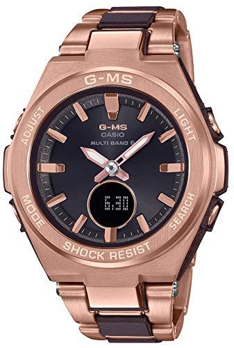 [カシオ] 腕時計 ベビージー G-MS 電波ソーラー MSG-W200CG-5AJF レディース