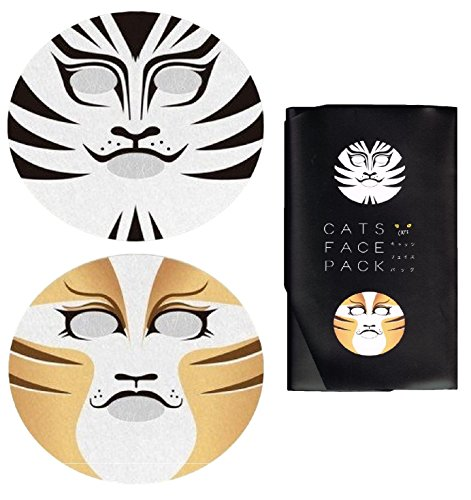 『 劇団 四季 キャッツ フェイス パック ( マンカストラップ & グリドルボーン ) 』 CATS FACE PACK