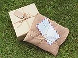 コクヨ 麻紐 きなり色 520m巻 チーズ巻き ホヒ-31 画像