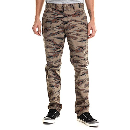 (ルーカ) RVCA メンズ ボトムス カジュアルパンツ weekender twill chino pants グリーン 34 [並行輸入品]