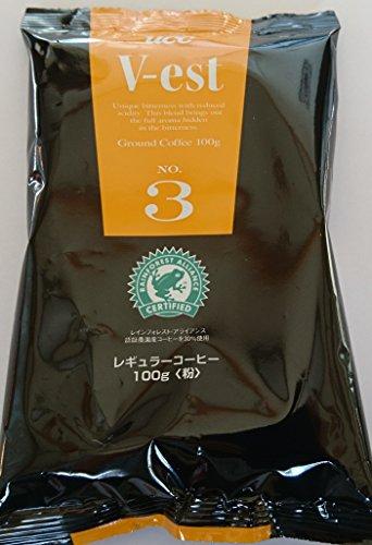UCC 業務用 コーヒー ヴェスト NO.3 RA (粉)AP 100g×50個