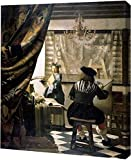 The Artists Studio by Johannes Vermeer–ギャラリーWrapped Gicleeキャンバスアートプリント–Ready To Hang 20″ x 24″ GW-POD-64-281419-20×24