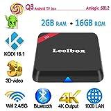 Leelbox Q3 Android TV BOX Amlogic S812 Octo Core Gpu Android 5.1 2GB /16GB Dual Wifi 5G/2.4G bluetooth 4.0 1000M LAN