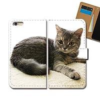 AQUOS R2 SHV42 ケース 手帳型 ねこ画像 手帳ケース スマホケース カバー 猫 ネコ ねこ 動物 アニマル E0293040102202