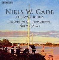 Niels W. Gade: The Symphonies, Nos. 1-8 by Stockholm Sinfonietta (2010-02-23)