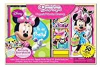 Bendon Minnie Mouse Magnetic Dress-Up and Storybook Set (50-Piece) by Artistic Studios Ltd. [並行輸入品]