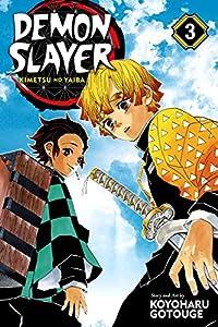 Demon Slayer: Kimetsu no Yaiba 3巻 表紙画像