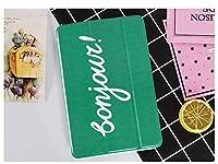 Pink&Brown ipadair1ケース ipadair2ケース 超軽量 極薄 超可愛い鴨 レザー 三つ折 スタンド オートスリープ 多サイズ対応 スマートカバー プレゼント対応 (ipadair1, 鴨がいない)