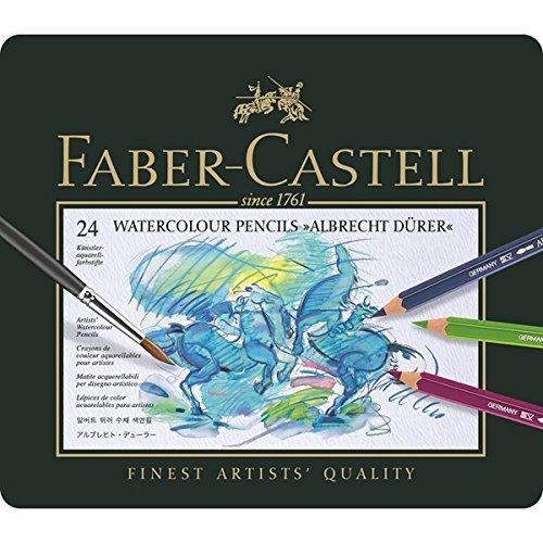 ファーバーカステル アルブレヒトデューラー水彩色鉛筆 24色セット