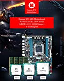 #002 Huanan X79-2011 マザーボード X79チップセット☆Intel Xeon E5-2670 2.6GHz 8コア CPU☆4GB*4枚=16GB PC3-10600(DDR3-1333) ECCメモリ☆セット