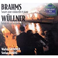 Brahms: Sons for Cello & Piano