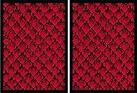 100 Legion Supplies Deck Protector Sleeves Matte Red Dragonhide [並行輸入品]