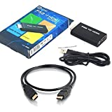 PS2 TO HDMI 変換アダプター PS2専用HDMI接続コネクター HDM出力 PS2HDMI変換 CONNECTOR PS2をHDMIテレビに接続 1.5M ハイスピードHDMIケーブル付属
