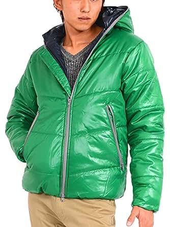 (スペイド) SPADE ジャケット 中綿 ジャンパー ブルゾン メンズ フード パーカー 【w144】 (M, グリーン)