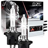 DZG HIDキット D2H 35W 5500K~6000K D2系キセノンランプ プロジェクター化ASSY電球 交番電流(AC)安定器付き 2年保証