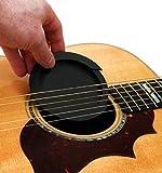 【slowhand】サウンドホールカバー ギター 弱音器 ミュート 消音 夜間練習用 (ホールカバー小)