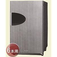 デバイスタイル エンジェルシェア 6本収納タイプ ワインセラー 【WA-6 シルバー】