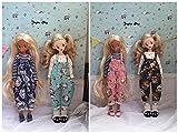 小さな動物オーバーオールAvailable for Blythe人形Azoneリカちゃん人形Clothesドレススラックス