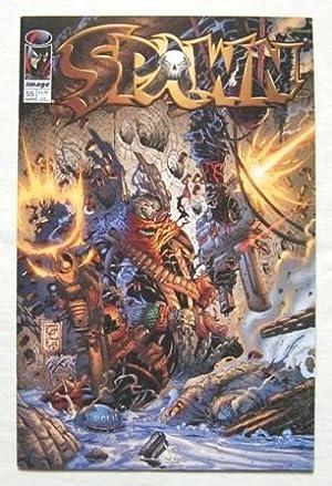 1996年 「SPAWN スポーン」 #55 中古アメコミ(洋書) IMAGE COMICS トッド・マクファーレン