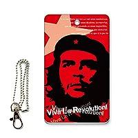 ICカード用パスケース 定期入れ デザイン チェゲバラ 革命家 レボリューション