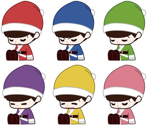 おそ松さん UTATANEこれくしょんクリスマスver. BOX商品 1BOX = 6個入り、全6種類の詳細を見る