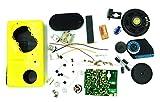 TEKNON 自分 で 作る 中波 スーパー ヘテロダイン ラジオ 受信機 キット 2 (イエロー)