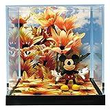 プラッツ アンド プランツ ディズニーキャラクターズジオラマシリーズ ミッキー&オータムデイジー 5cm 塗装済み PVC PPD-003